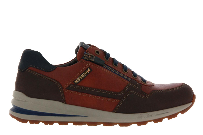 Mephisto sneaker BRADLEY VELOURSPORT DARK BROWN