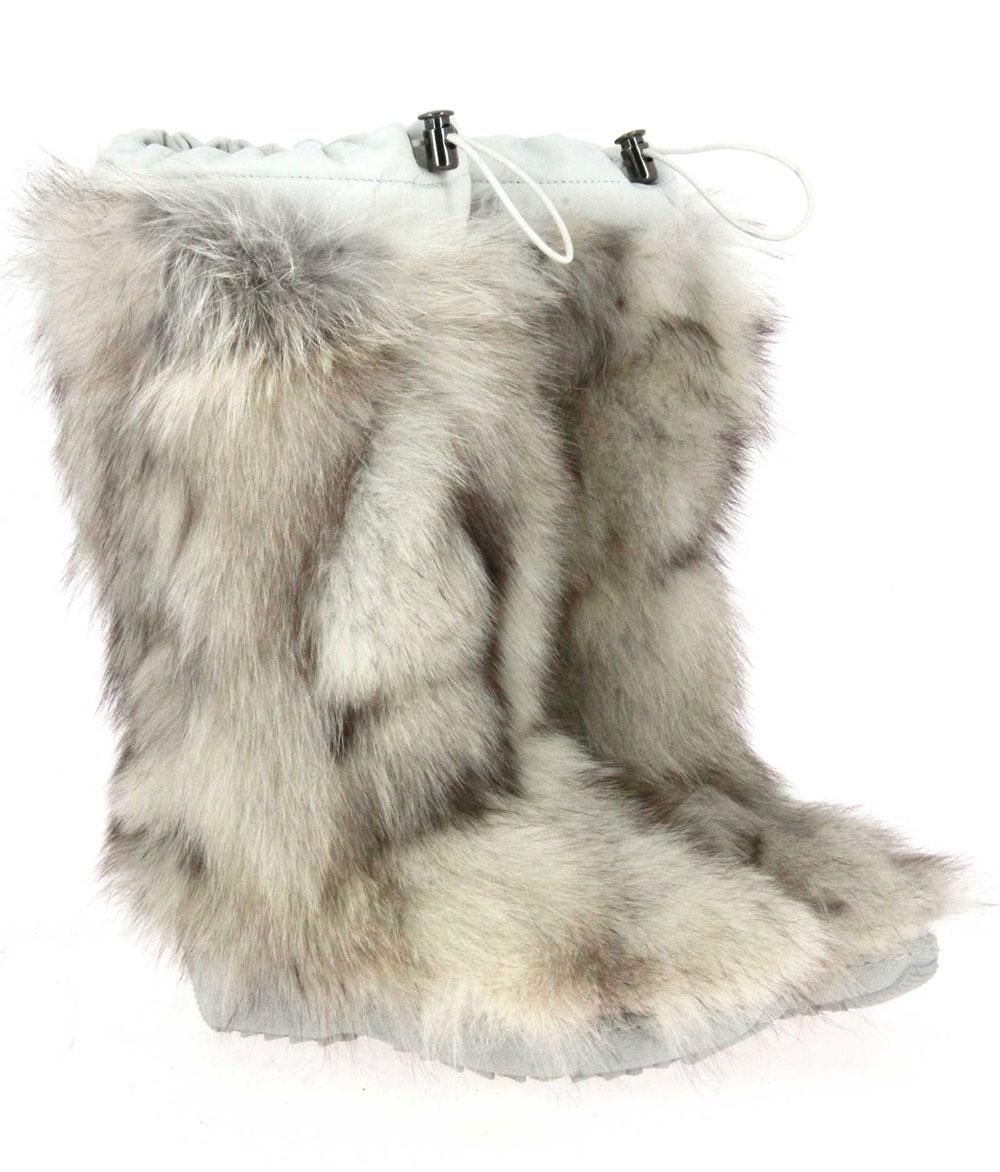 Oscar Sport fur boots PENELOPE BIANCO-GROENLANDIA