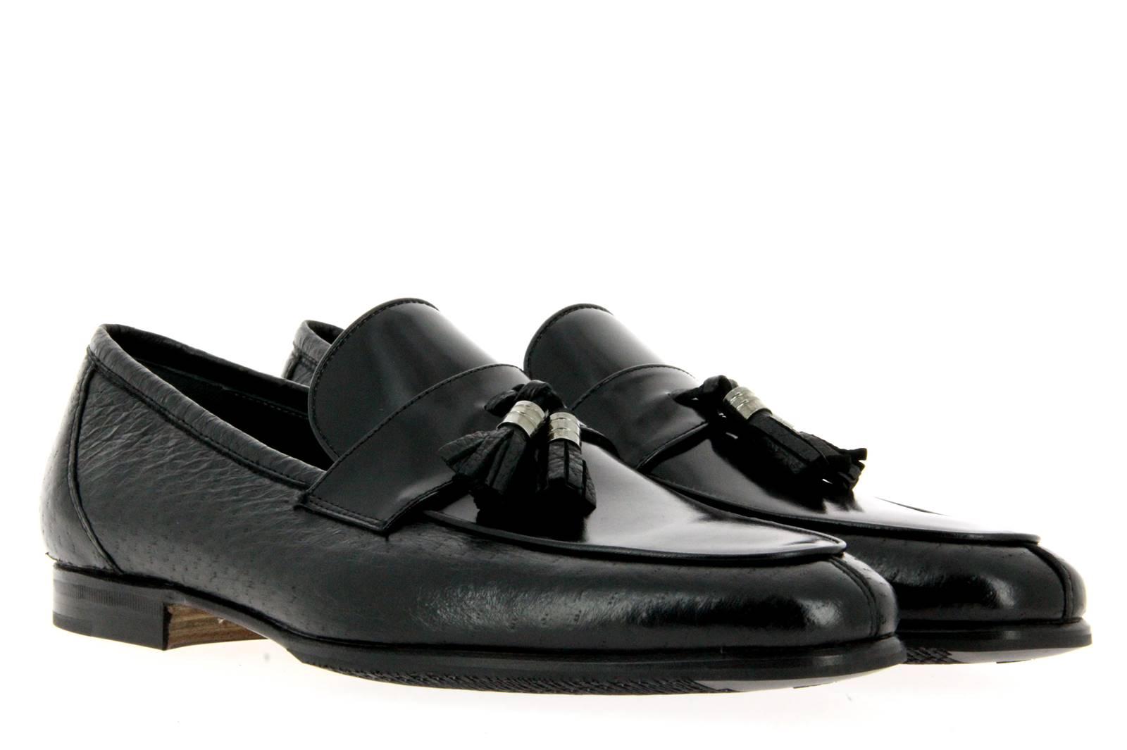 Moreschi slipper PECCARY NERO