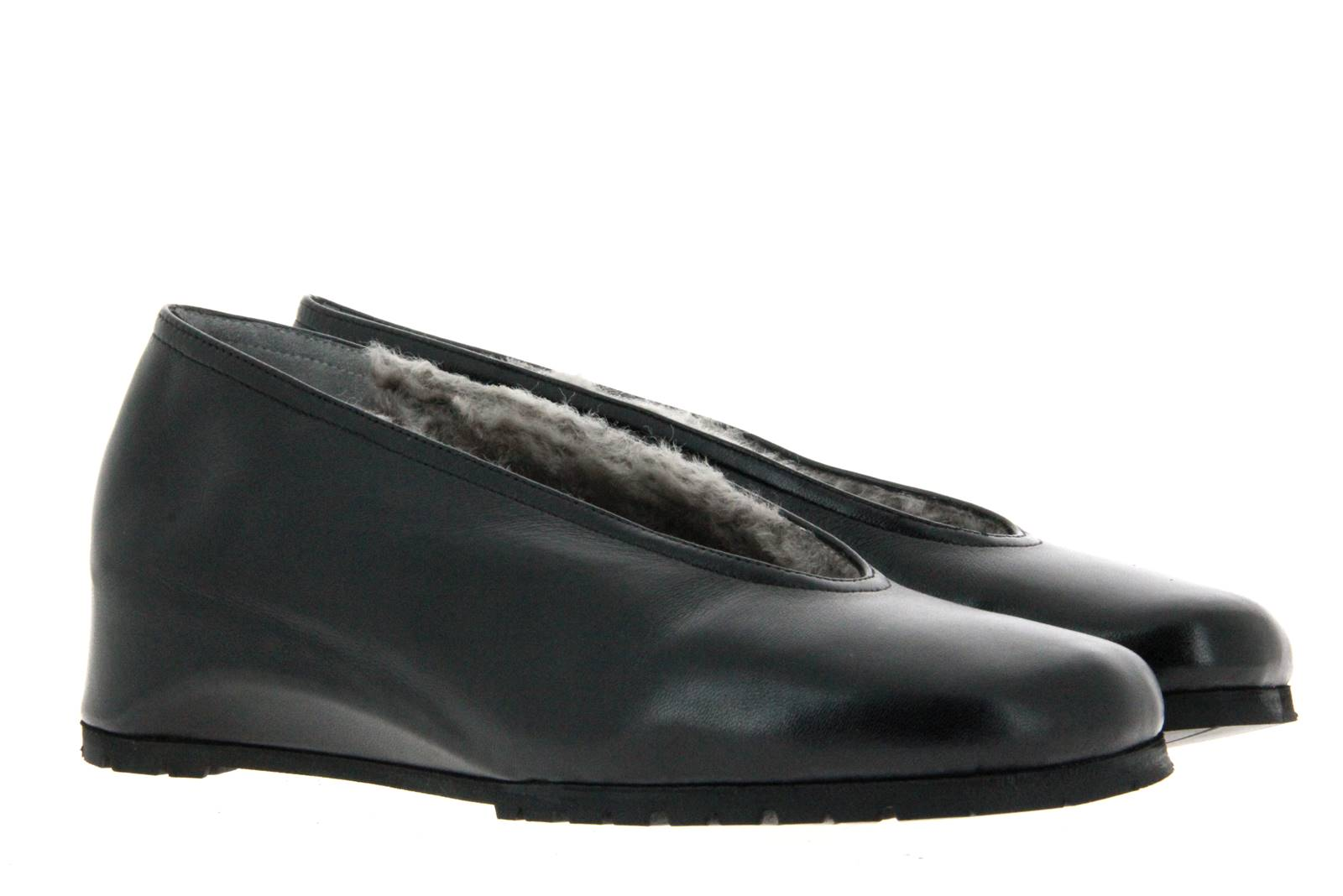 Thierry Rabotin slipper lined NAPPA NERO