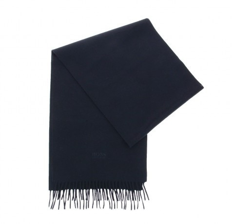 Hugo Boss TAILORED scarf T-SCOTTAS DUNKELBLAU