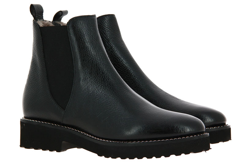 Luca Grossi Chelsea boots lined BOTERO NERO