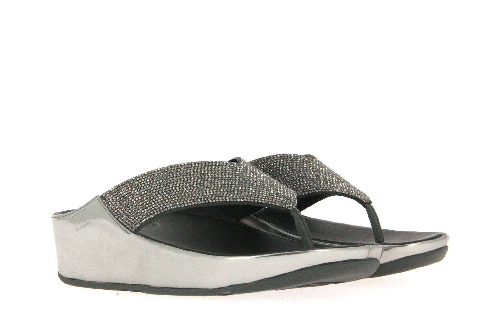 Fitflop mules PEWTER CRYSTAL