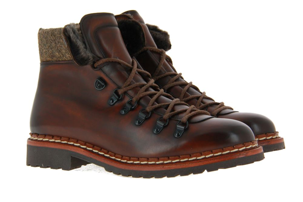 Cordwainer ankle boots lined ELBA ESPRESO YORK