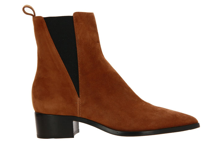Pomme D'Or ankle boots SYBIL CAMOSCIO TOFFEE