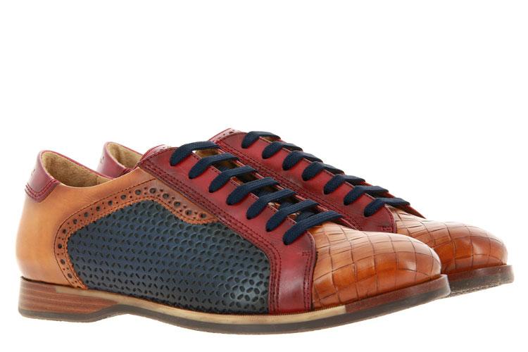 Galizio Torresi lace-up BLU BROWN