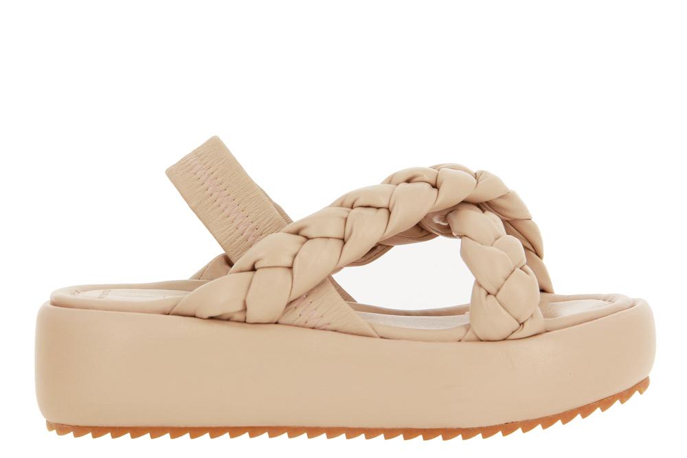 181 sandals JANE BALI NAPPA NUDE
