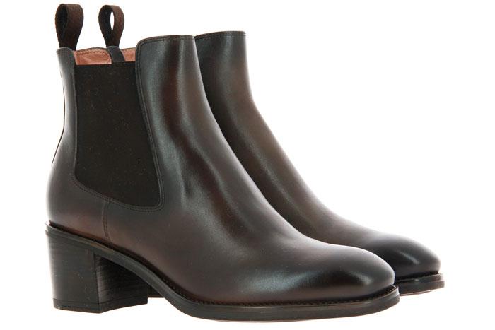 Santoni Chelsea boots NAPPA BROWN