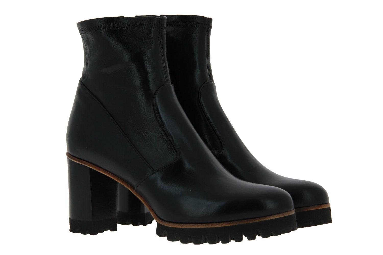 Truman's ankle boots VITELLO NERO NAPPA STRETCH