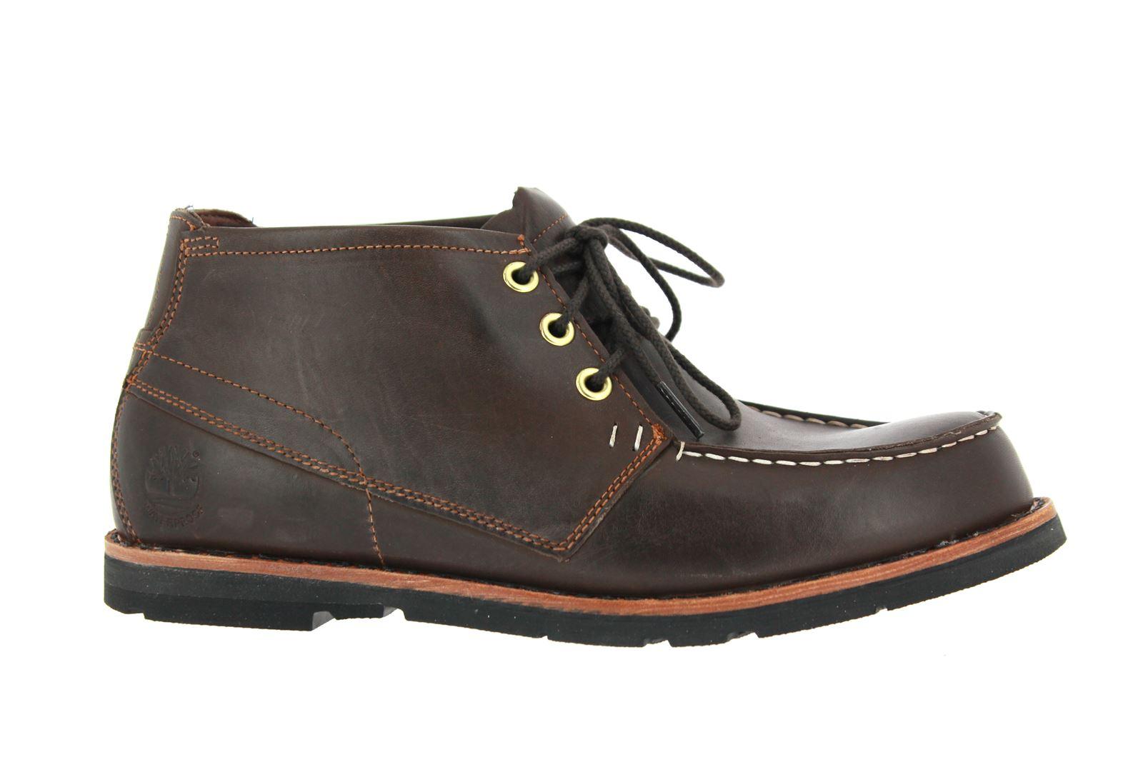 Timberland Laced Boot RUGGED CHUKKA DARK BROWN