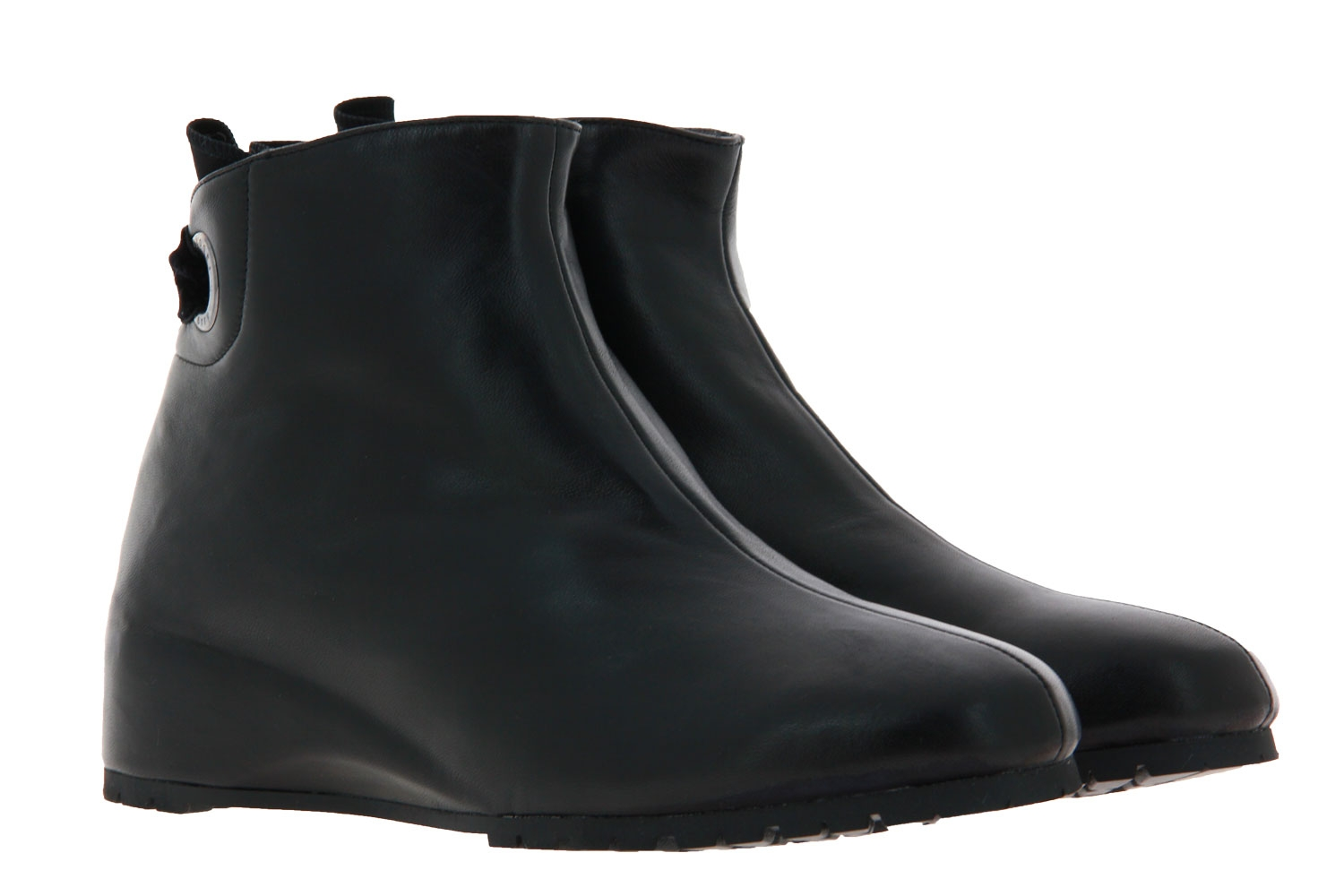 Thierry Rabotin ankle boots lined TOMMY NAPPA NERO