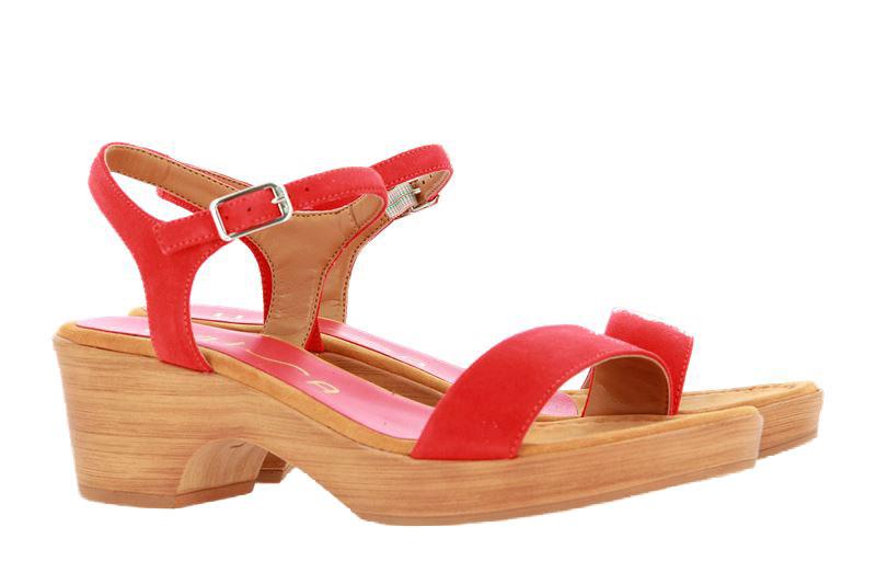 Unisa sandals IRITA KID SUEDE CORALLO