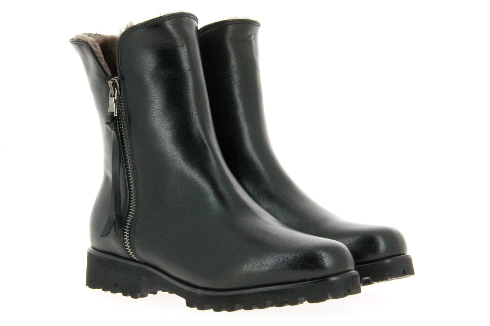 Gabriele ankle boots lined SILVIA TRONCHETT NAPLUX NERO