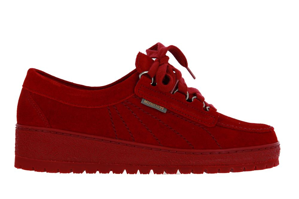Mephisto sneaker LADY RED VELOURS 9801