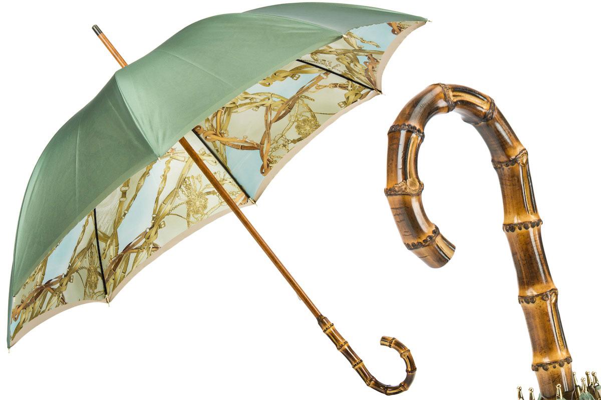 Pasotti umbrella BAMBOO DOPPIO
