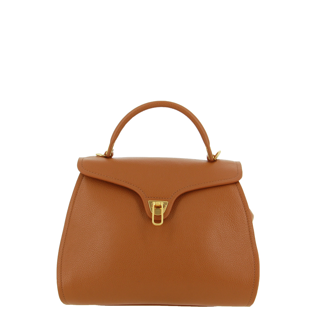 Coccinelle handbag MARVIN MEDIUM MARRONE
