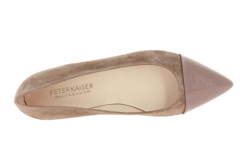 Peter Kaiser slipper CARA FUR LACK SUEDE
