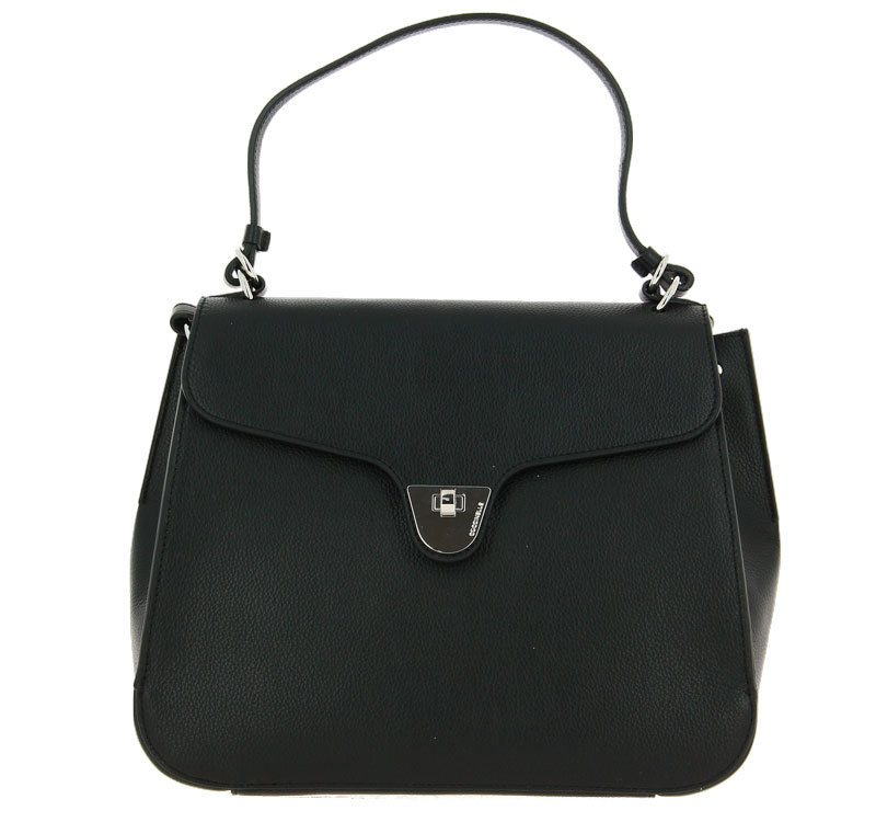 Coccinelle bag FLORENCE LEATHER NOIR