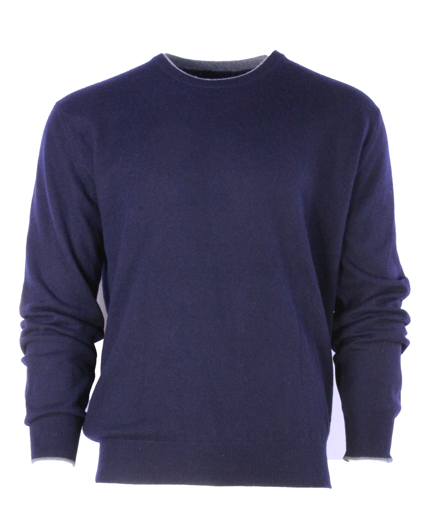 Buxton Street sweater CASHMERE MIDNIGHT