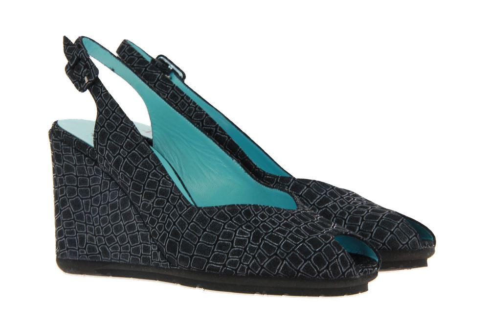 Thierry Rabotin wedge sandals AVERY WEDGE TURTLE NERO