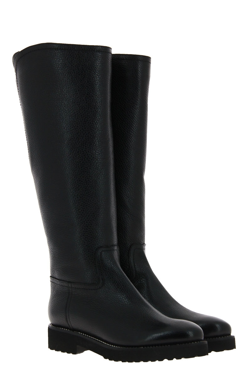 Luca Grossi boots lined BOTERO NERO