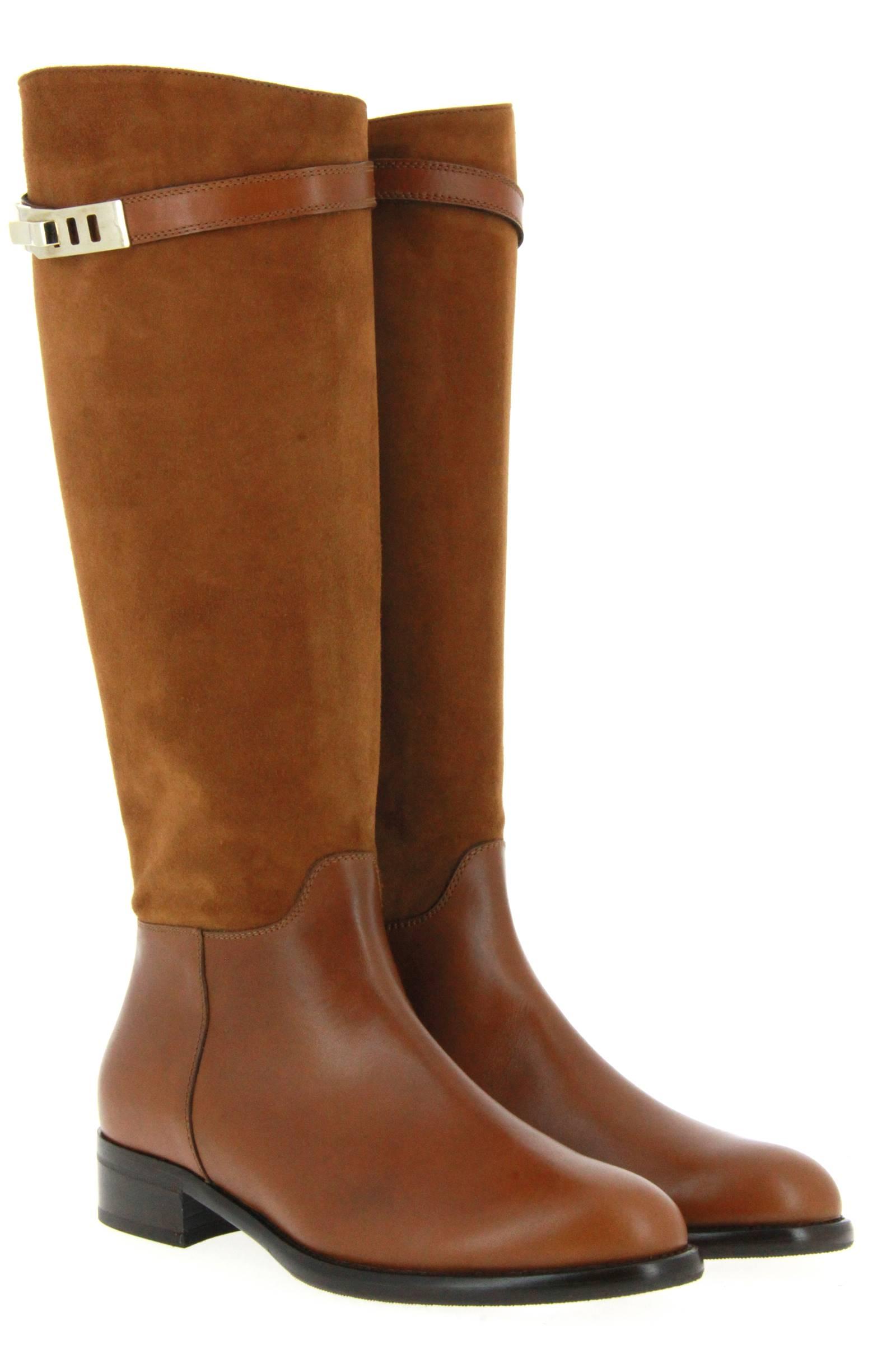 Maretto boots COGNAC CAMOSCIO
