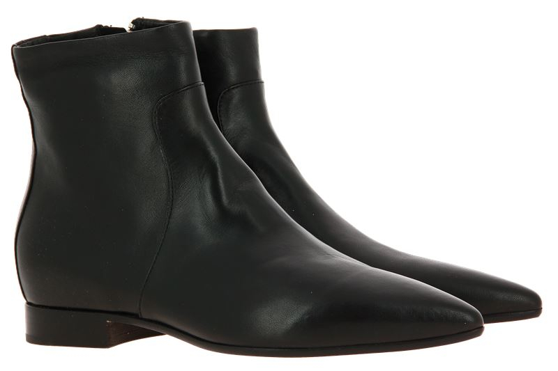 Pomme D'Or ankle boots GLOVE NERO CUOIO NERO