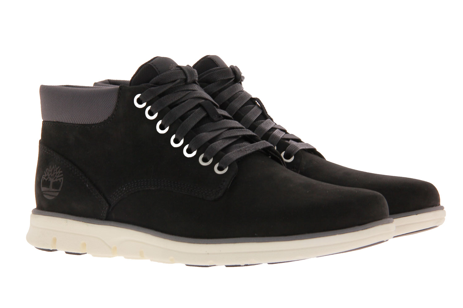 Timberland lace-up ankle boots CHUKKA LEATHER BLACK