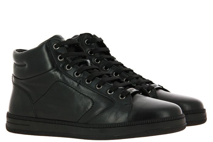 Galizio Torresi High Top sneaker FOULARD NERO