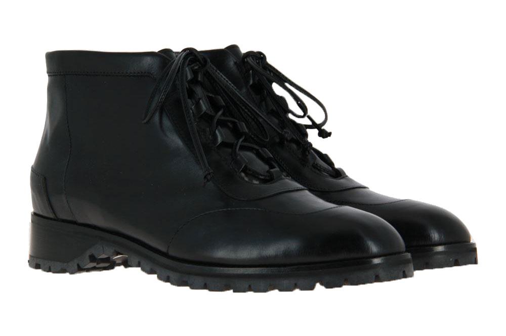 Maretto ankle boots lined CALF NERO