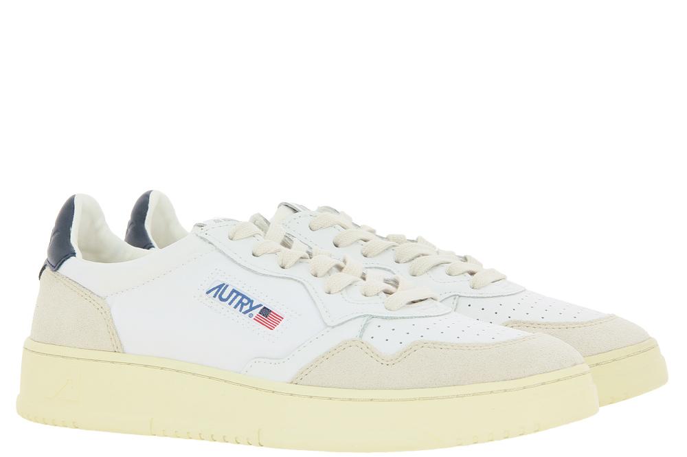 Autry sneaker LOW MAN SUEDE NYLON WHITE BLACK