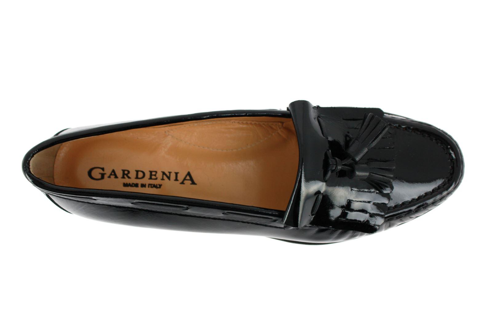 Gardenia Moccasins LACK NERO