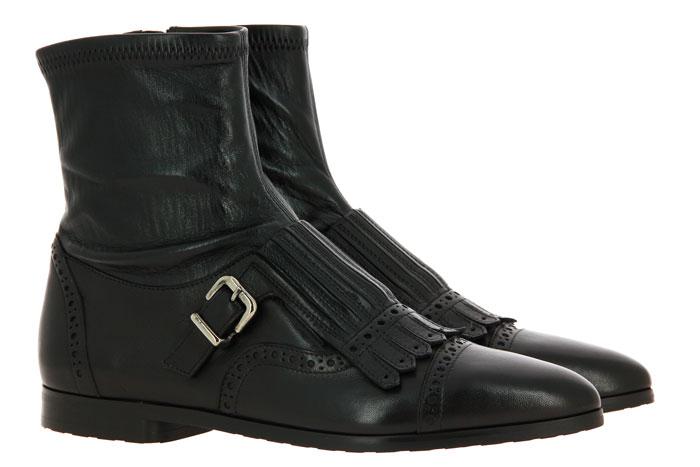 Truman`s ankle boots NAPPA STRETCH NERO