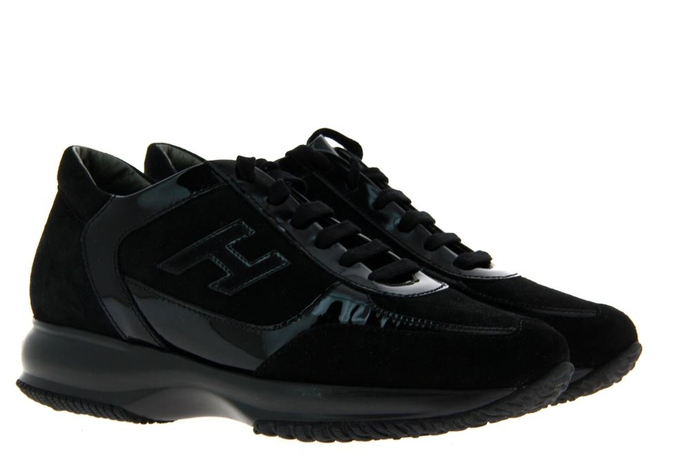 Hogan sneaker INTERACTIVE H FLOCK PICCOLA ALTRAVERSIONE - Size: 36
