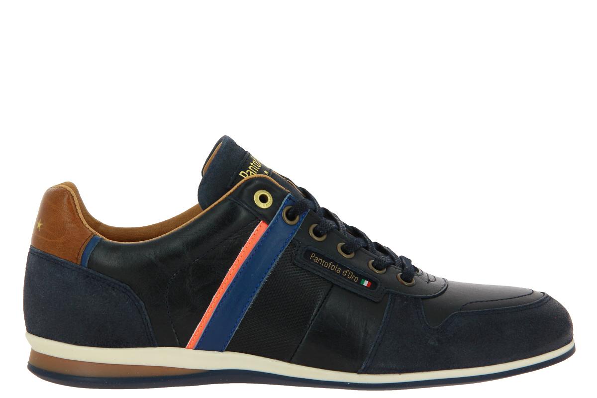 Pantofola d'Oro sneaker LARONE UOMO LOW DRESS BLUES
