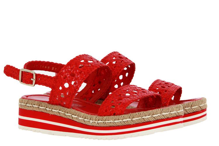 Pons Quintana sandals MILAN CORAL BLANCO