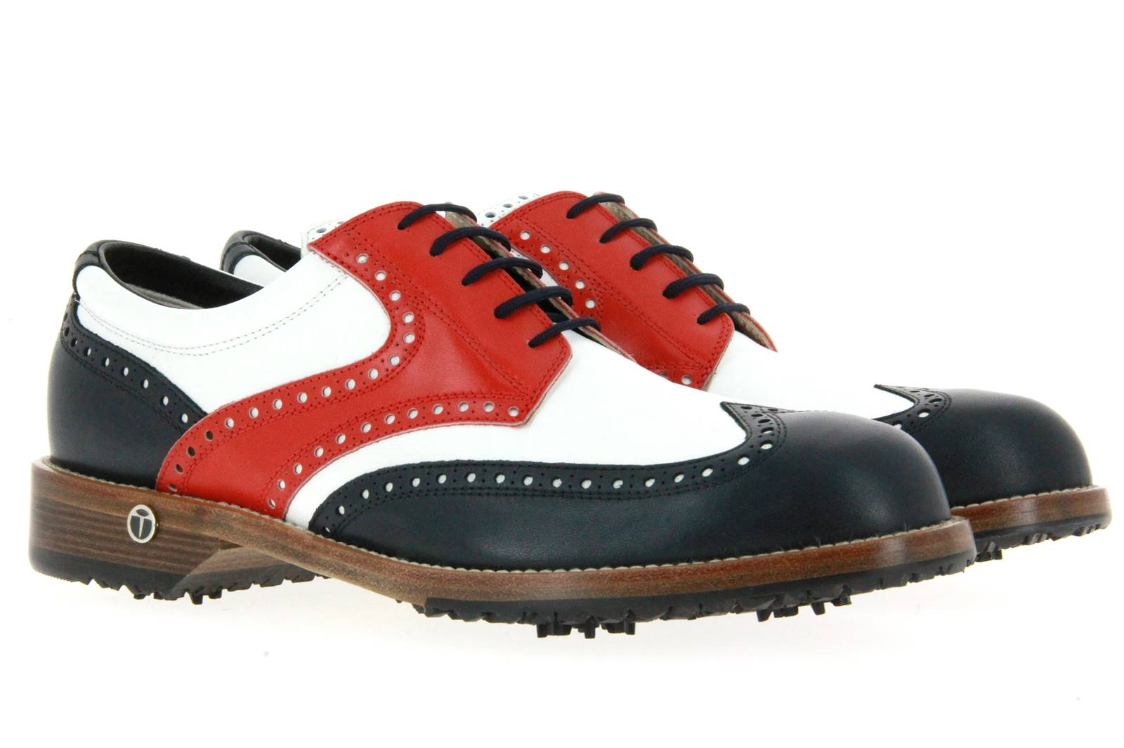 Tee Golf Shoes golf shoe TOMMY VARIO BLU BIANCO ROSSO