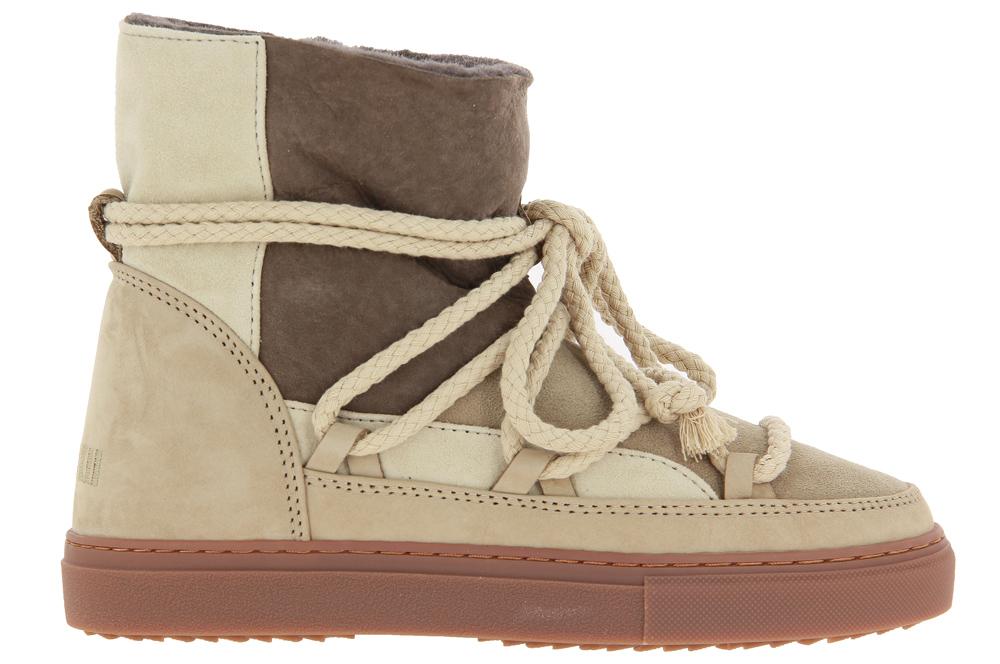INUIKII sneaker boots lined PATCHWORK BEIGE
