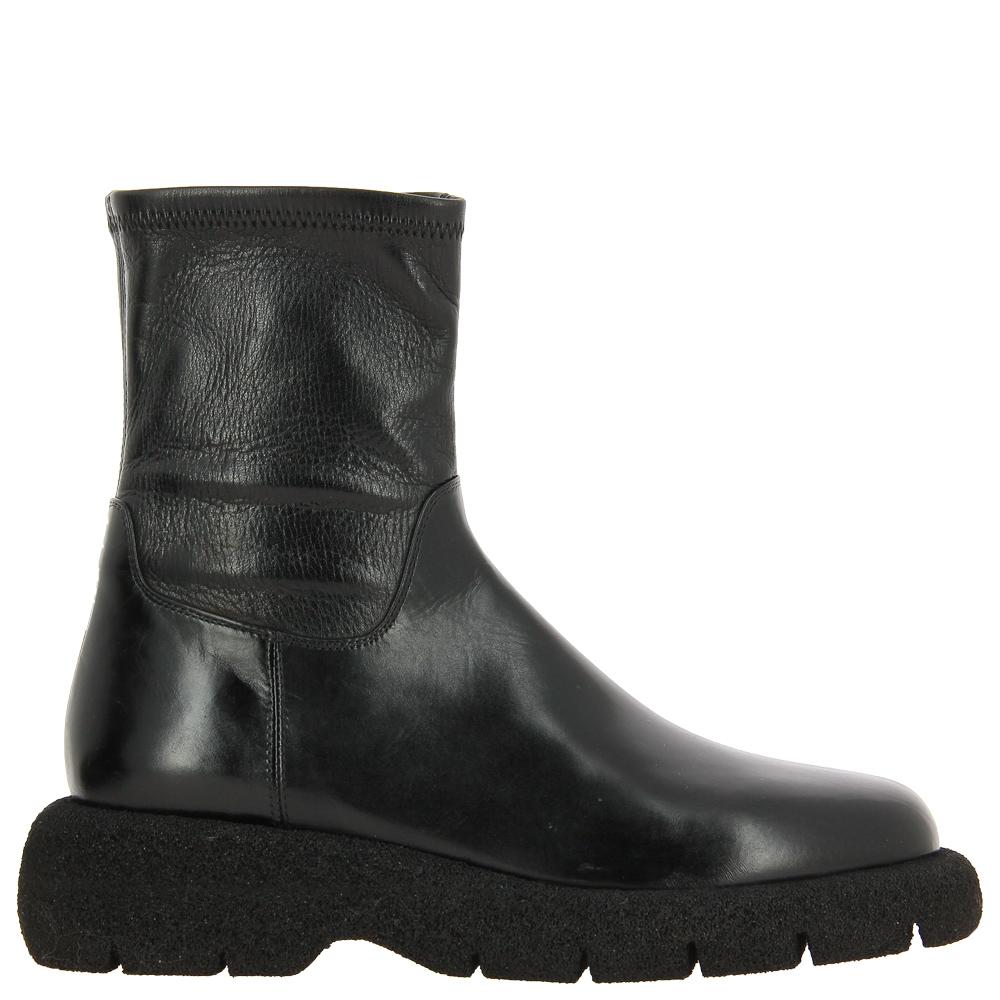 Truman's ankle boots STRETCH NAPPA NERO
