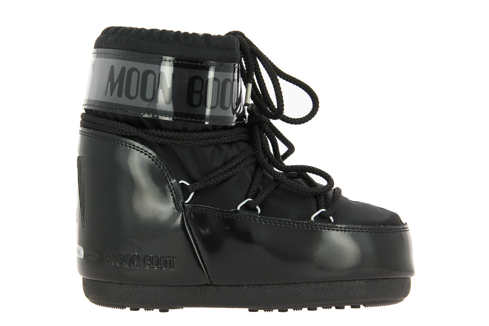 Moon Boot CLASSIC LOW GLANCE BLACK
