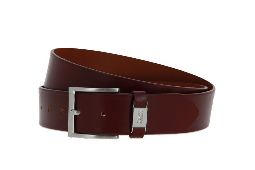 Hugo Boss belt CONNIO MID BROWN