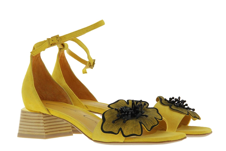 Lola Cruz sandals CAMOSCIO MOSTAZA