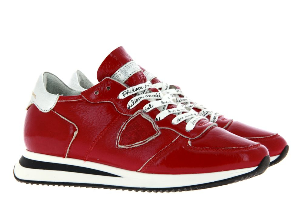 Philippe Model sneaker lined MOUTON COLEUR ROUGE