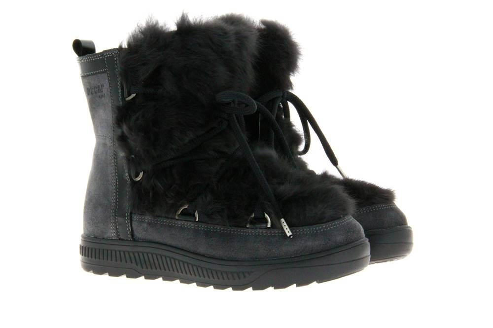 Oscar Sport fur boots ANET-SHORT GRIGIO