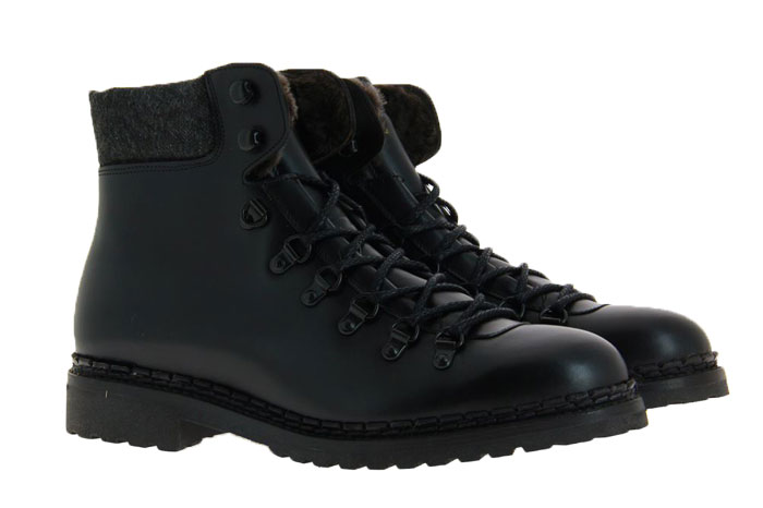 Cordwainer ankle boots lined ELBA BLACK YORK