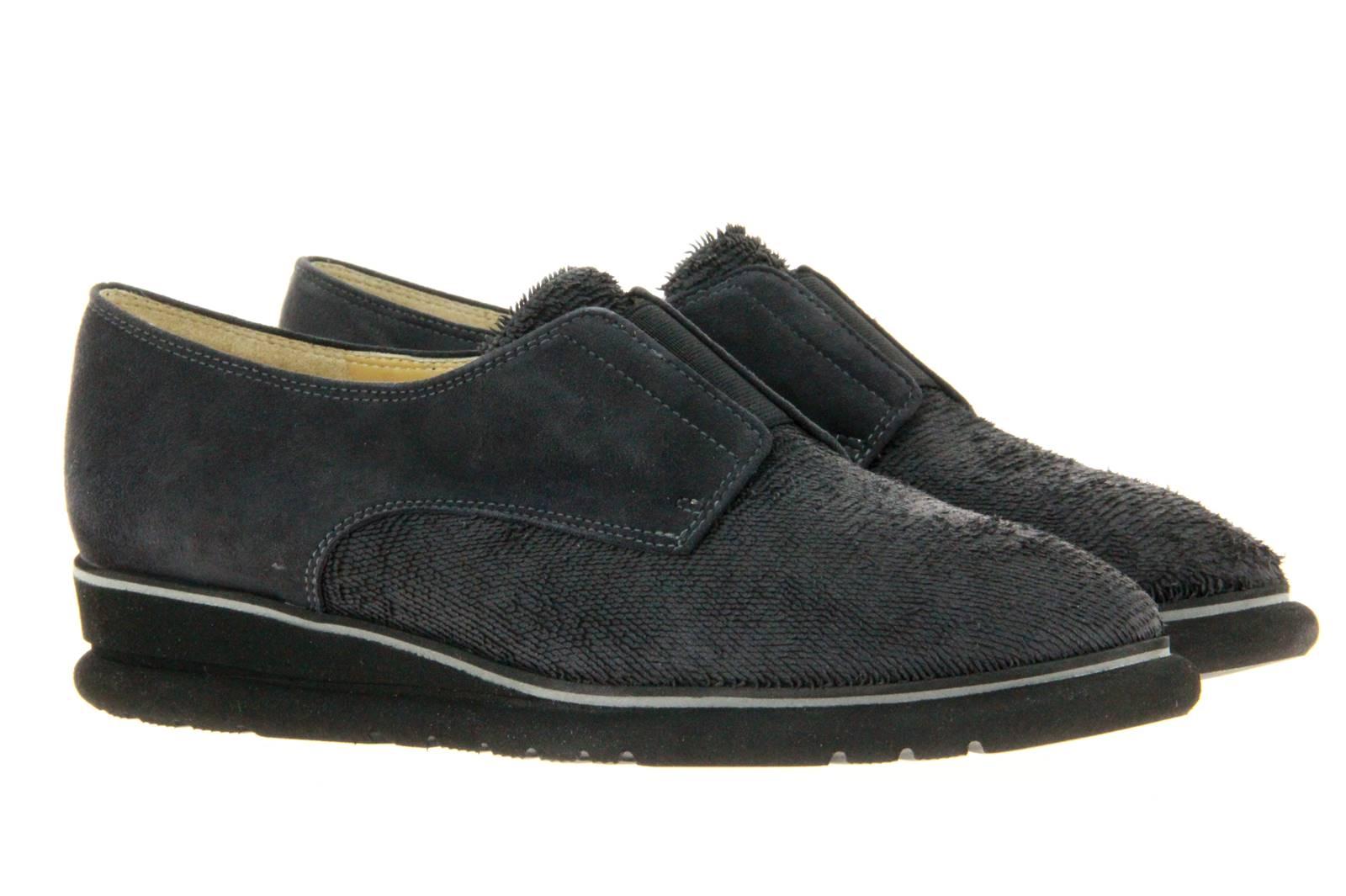 Brunate slipper LUCY W VELA CARBON CAMOSCIO CARBON