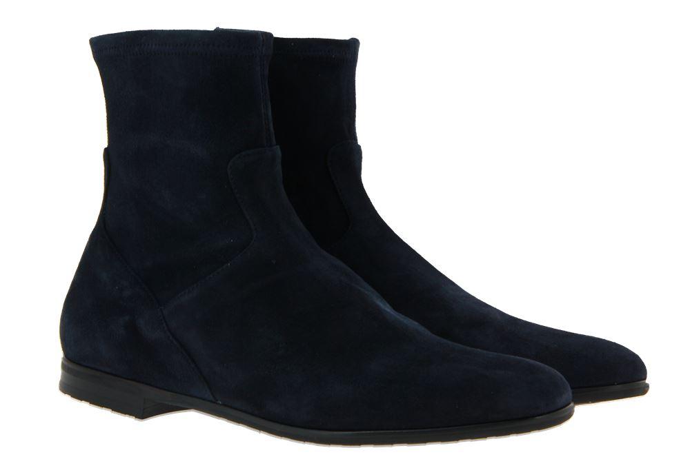 Truman's ankle boots CAMOSCIO BLU SCURO