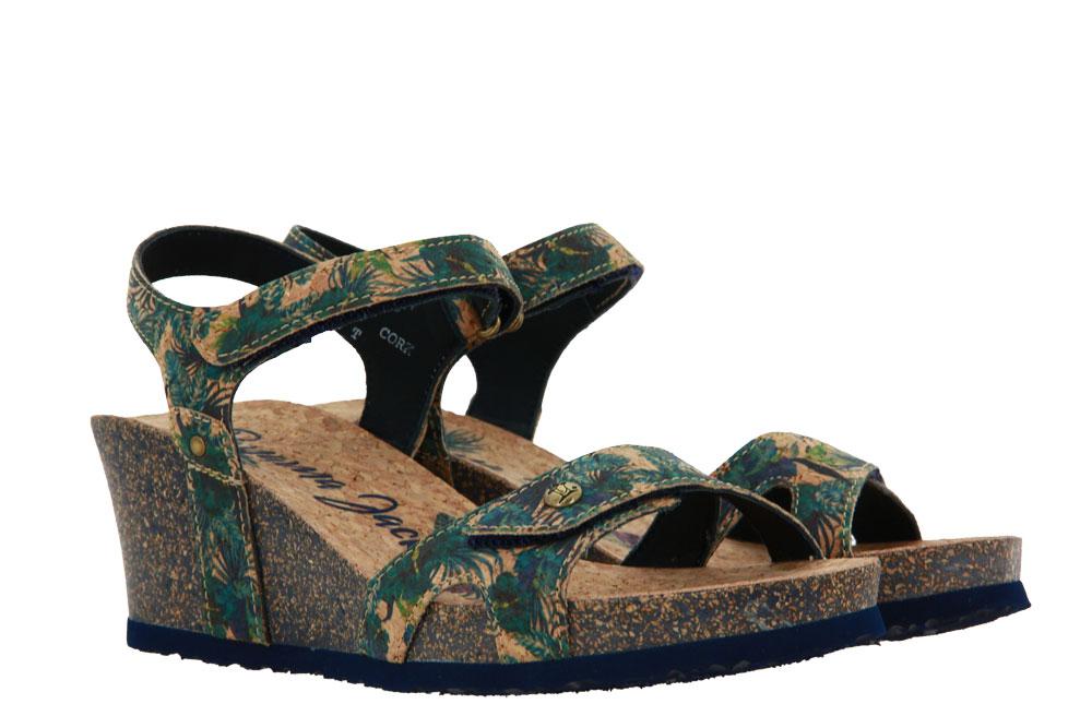 Panama Jack wedge sandals JULIA CORK B4 TEJIDO MARINO