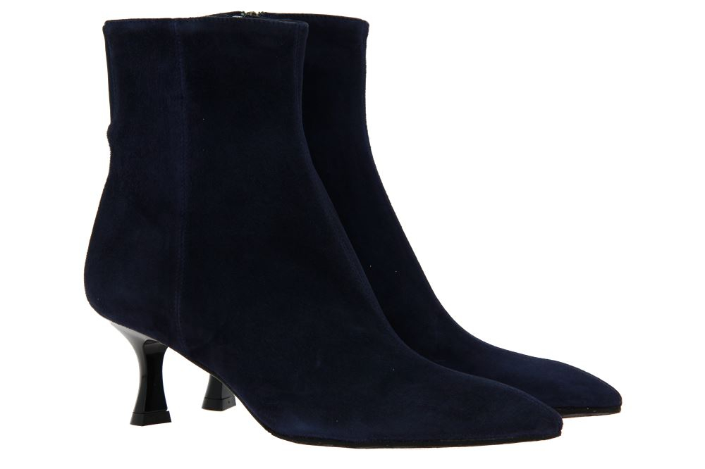 Thierry Rabotin ankle boots TENNESSEE CAMOSCIO NAVY