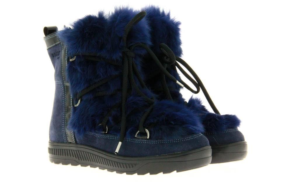 Oscar Sport fur boots ANET-SHORT BLU JEANS